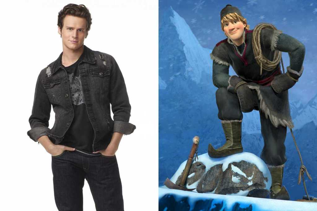 Jonathan Groff as Kristoff. Look at these two sexy creatures! Photo credit: movies.inquirer.net