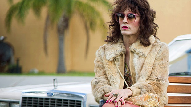 Jared Leto as Rayon, the transgender woman. Who knows what people you'd meet in real life?  Photo credit: ctvnews.ca