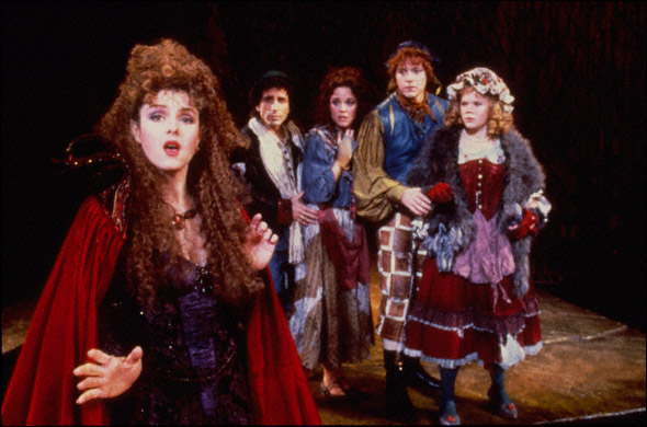The original Broadway cast, 1986.  Photo source: playbillvault.com