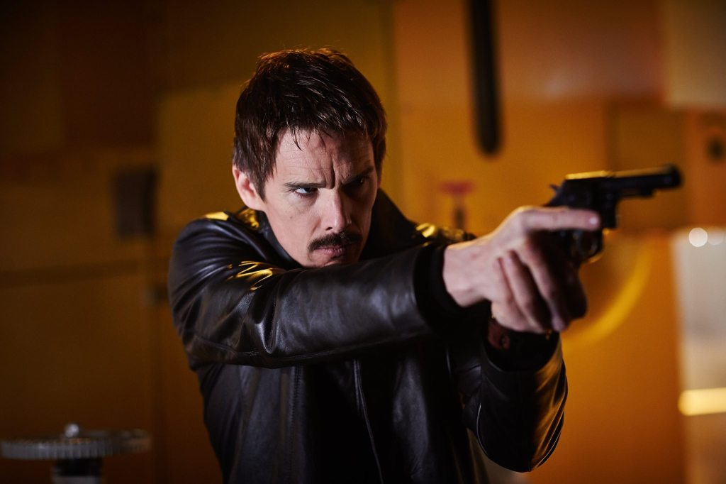 Ethan Hawke played a temporal agent whose job was to prevent terrorist activities from happening. Photo: moviemezzanine.com